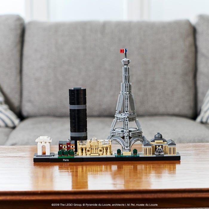 The LEGO® Paris skyline