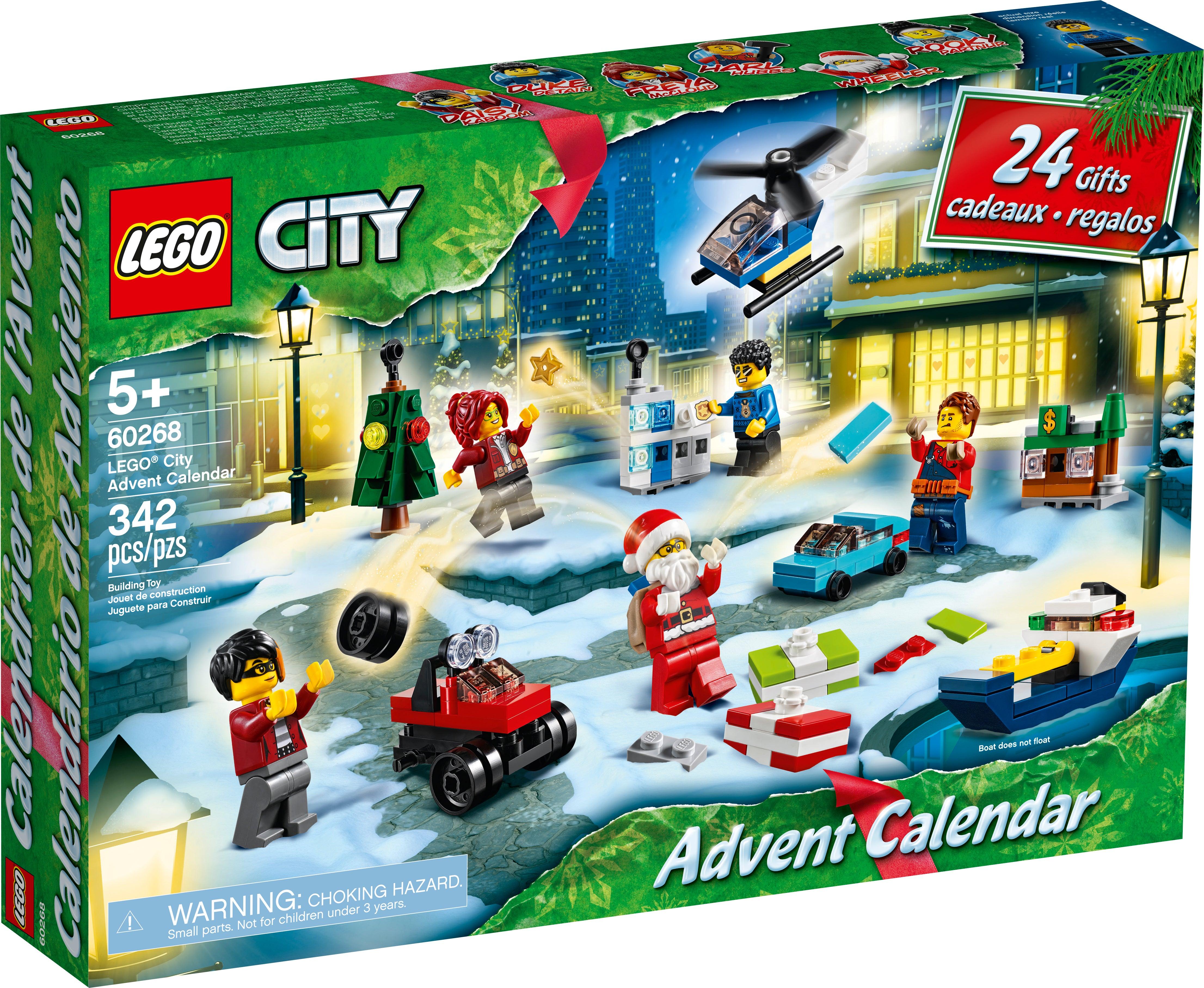 Lego October 2022 Calendar.Lego Complete Sets Packs Toys Hobbies Lego City Advent Calendar 24 Gifts 60268 Brand New