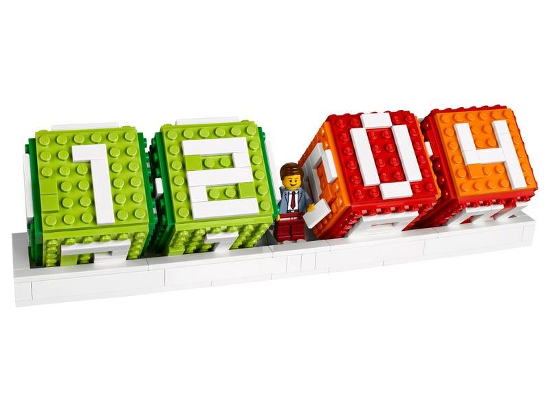 Calendrier en briques LEGO®