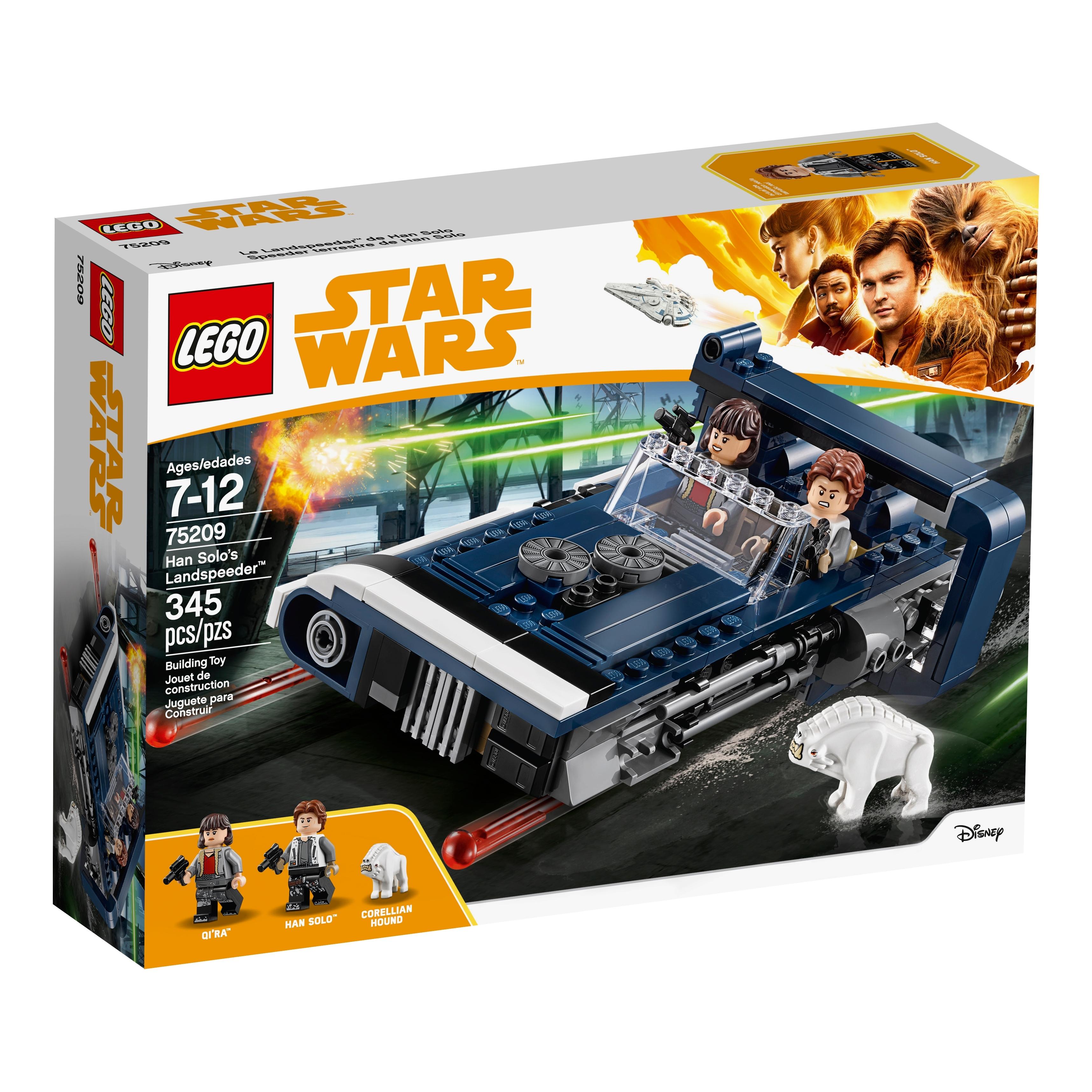Lego Star Wars Corellian Hound Dog Minifigures  75209 75210 Solo