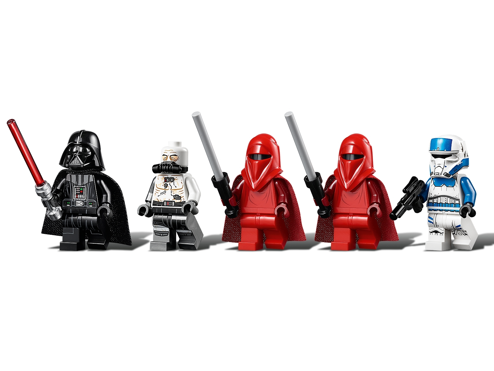 LEGO LOT OF 5 RED CAPE PIECES STAR WARS IMPERIAL GUARD ACCESSORIES CLOTH PCS
