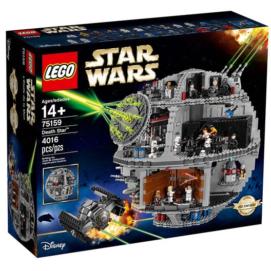 Death Star 75159 Star Wars Buy Online At The Official Lego Shop Us