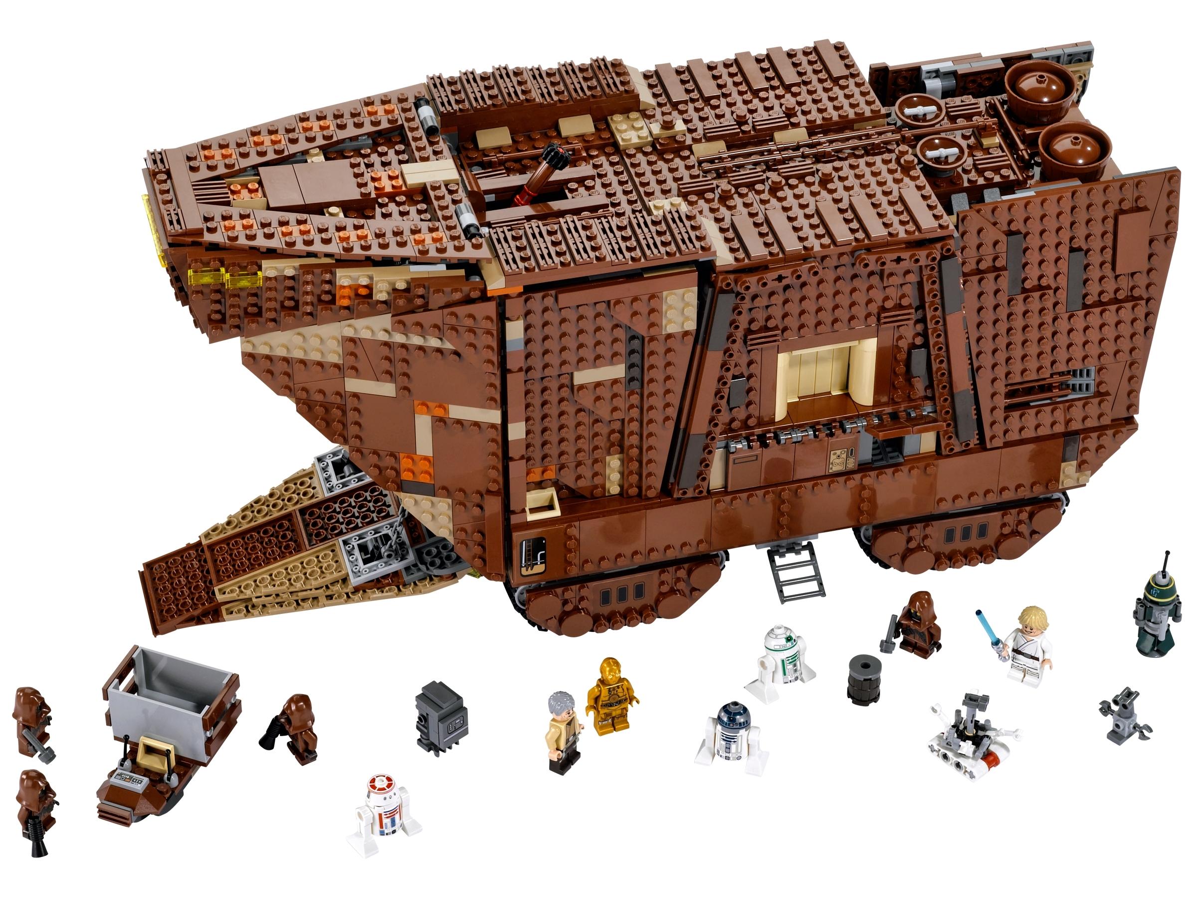 NEW RARE LEGO OWEN LARS MINIFIGURE STAR WARS SANDCRAWLER 75059 SET