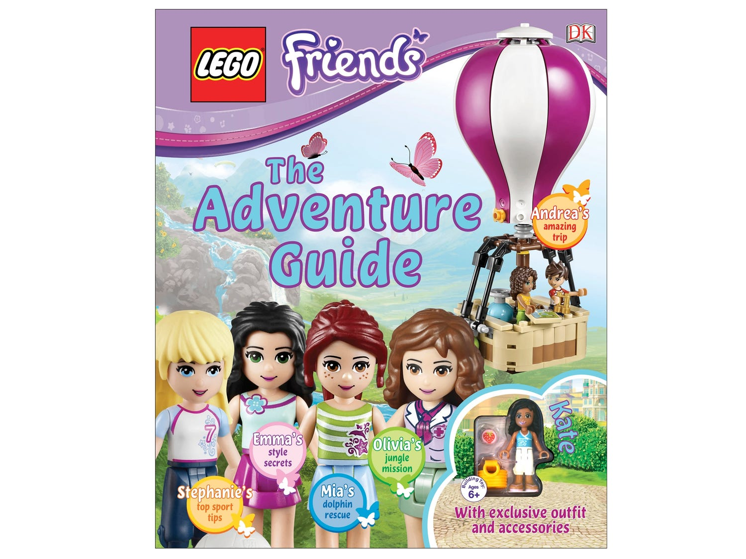 LEGO® Friends : Le guide d'aventures