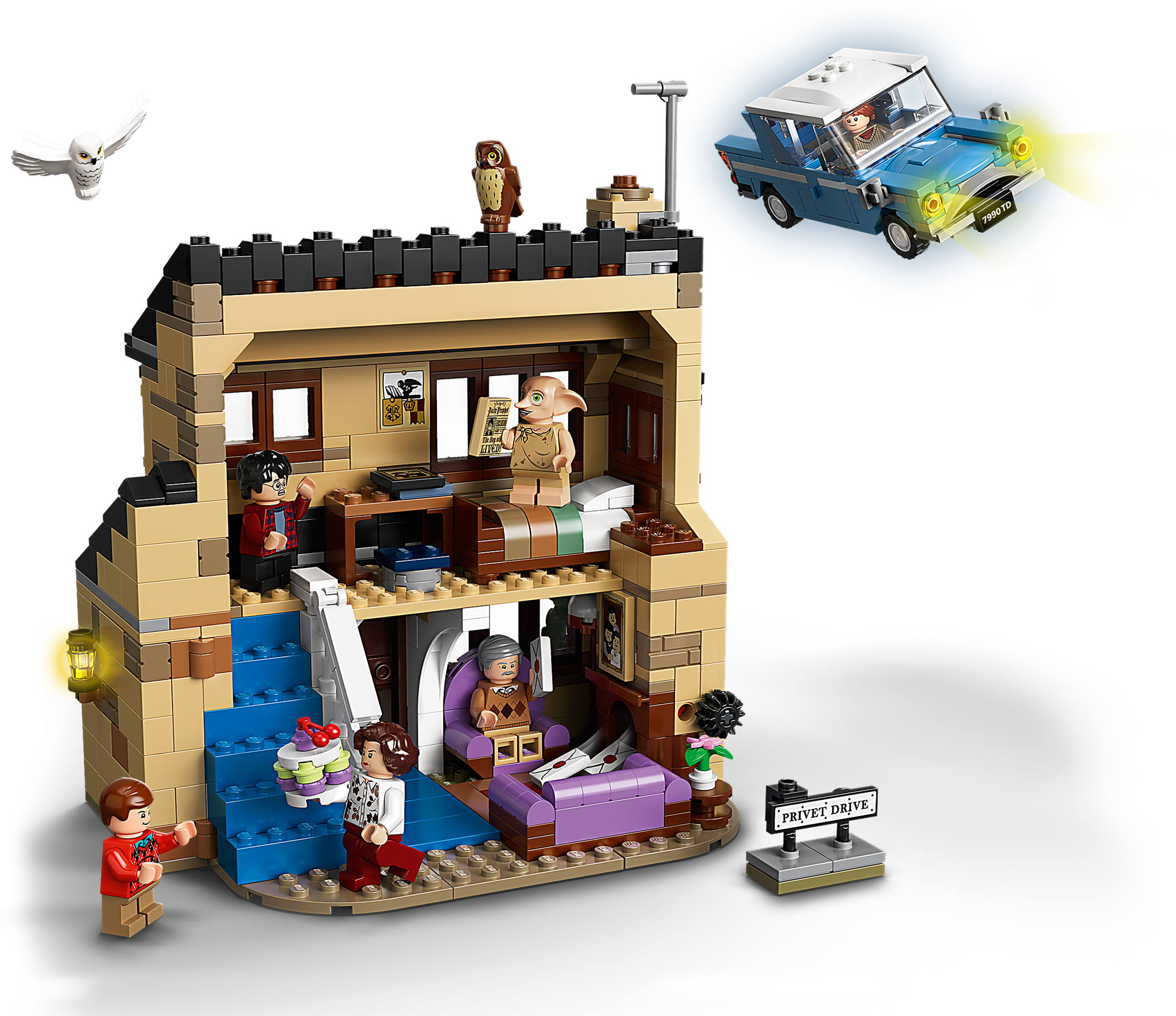 LEGO Harry Potter 75968 Ligusterweg 4 | Smyths Toys Superstores