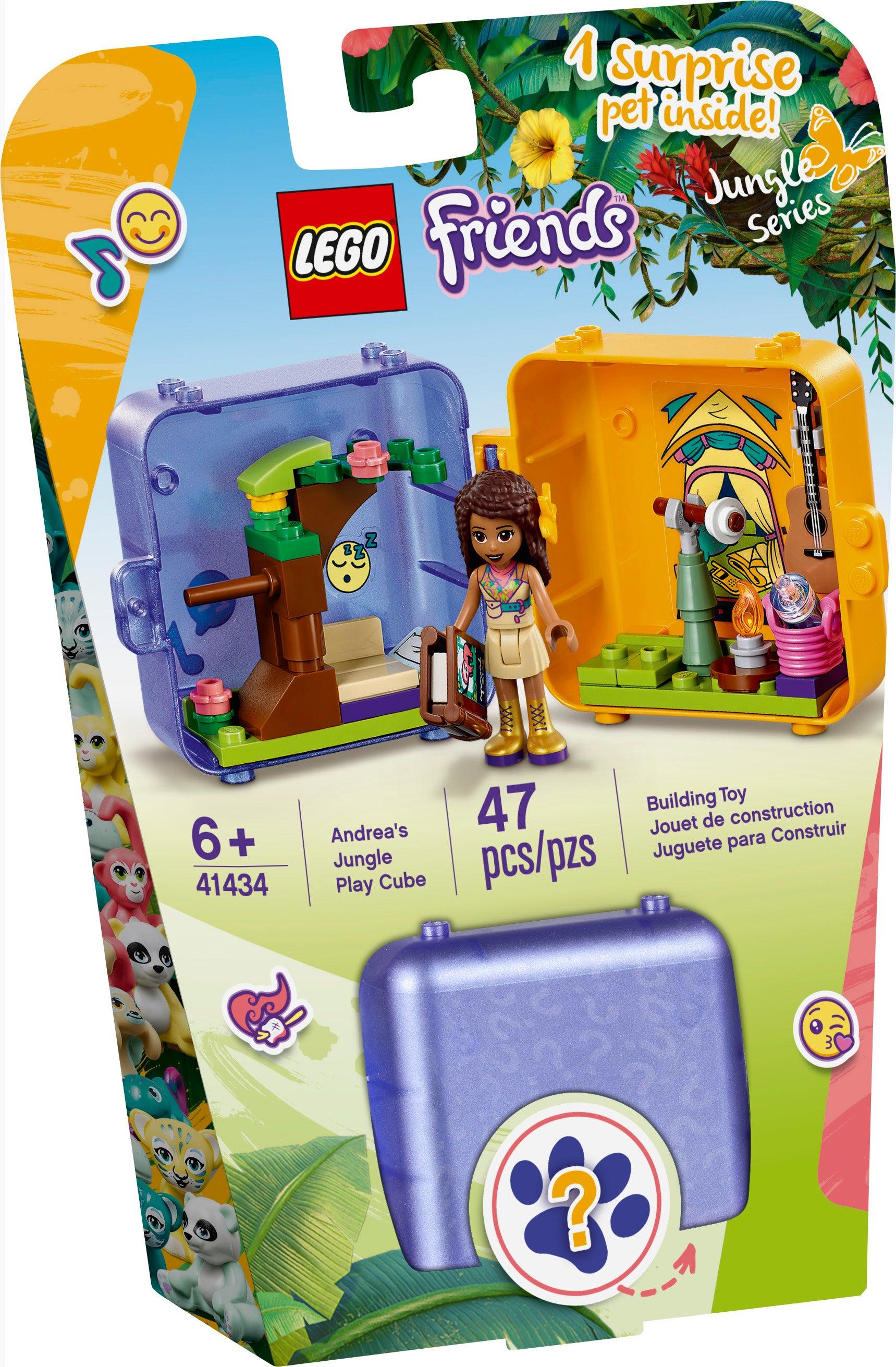 Lego 41434 Friends Andrea/'s Play Cube jungle series