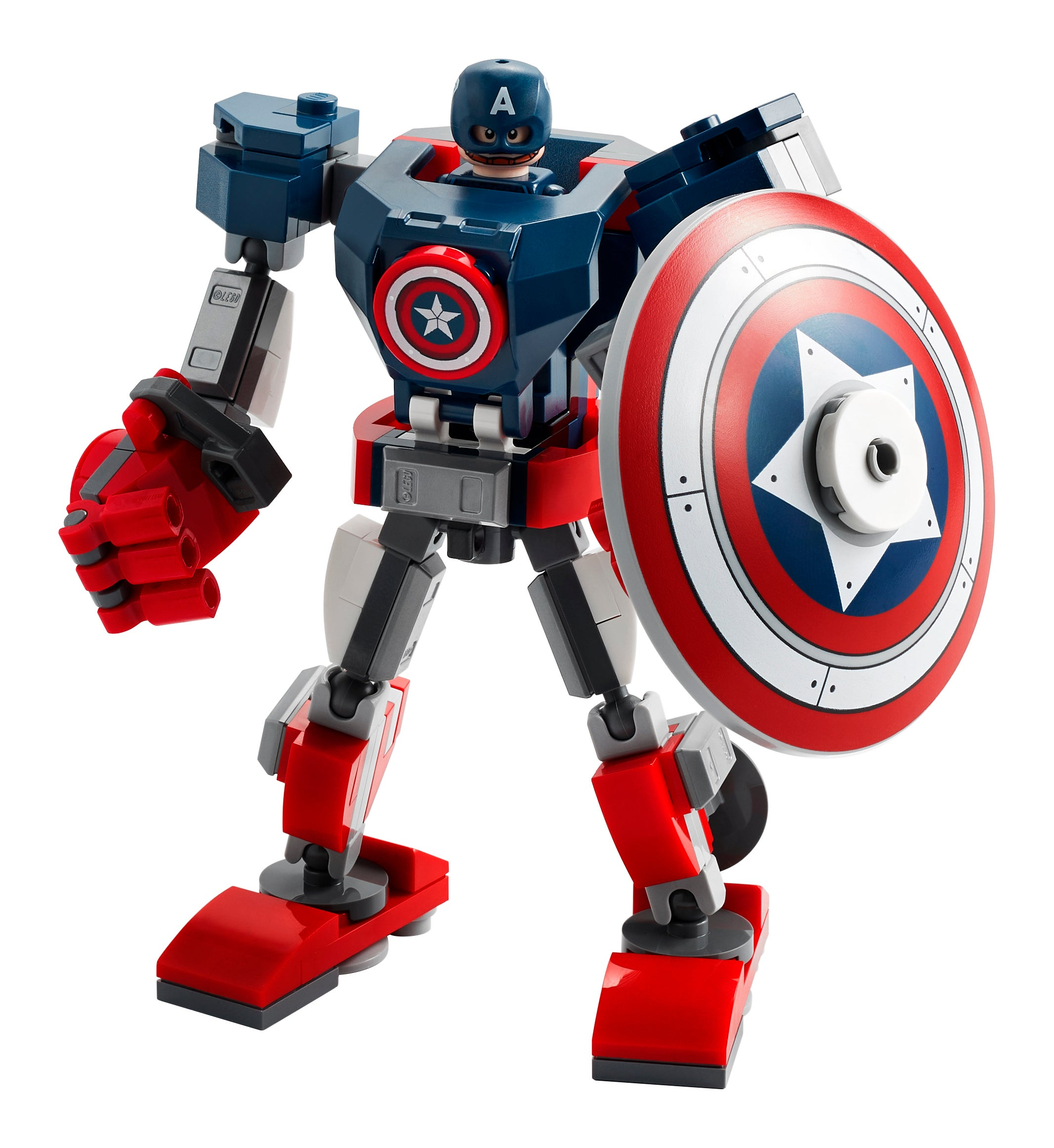 Lego type mini figurine serie marvel captain america avengers