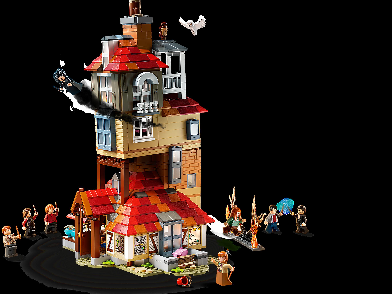 L Attaque Du Terrier Des Weasley 75980 Harry Potter Boutique Lego Officielle Fr
