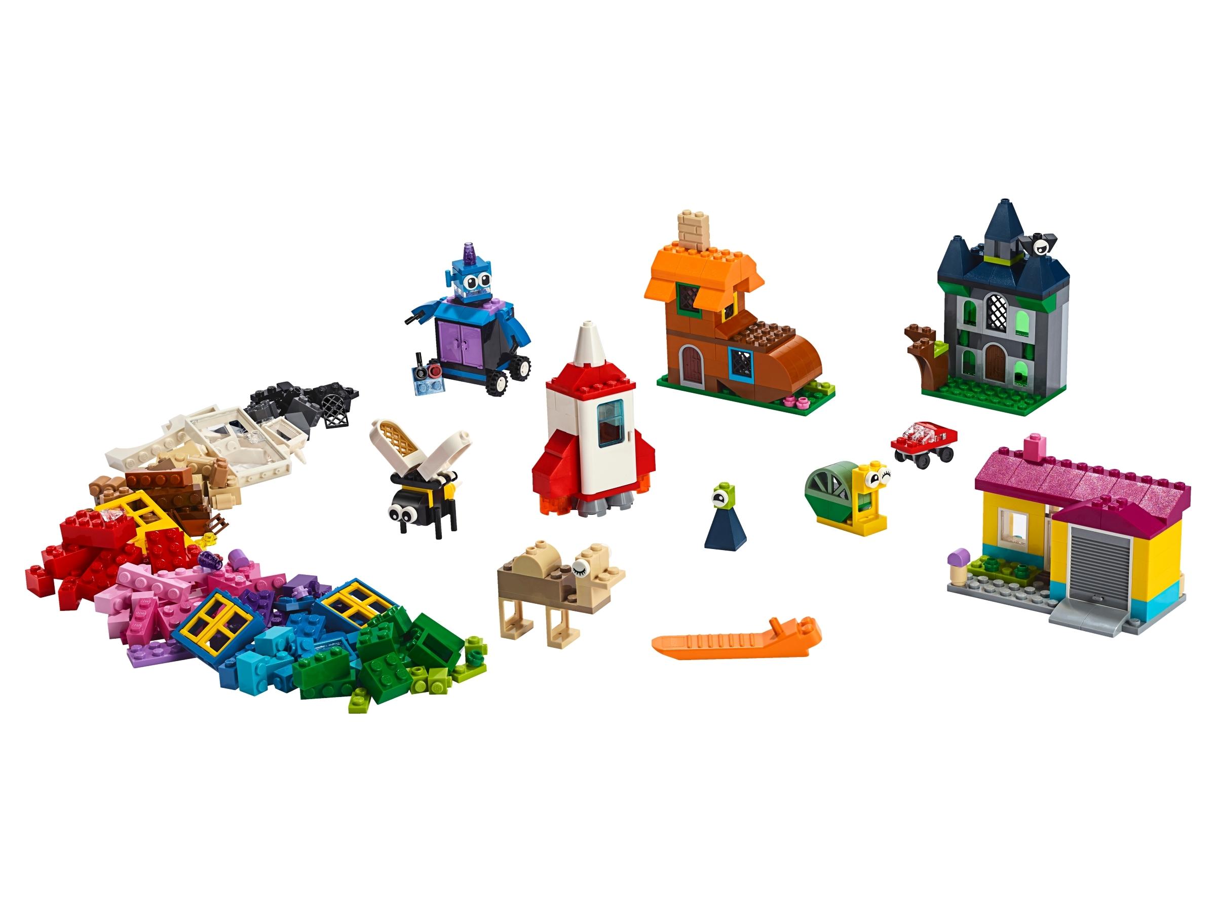 450 Piece LEGO Classic Windows of Creativity 11004 Building Kit