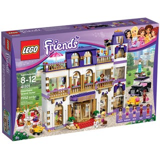 Heartlake Grand Hotel 41101 Friends Buy Online At The Official Lego Shop De