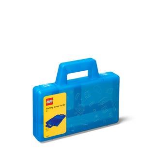 Transparent Blue Sorting Case To Go