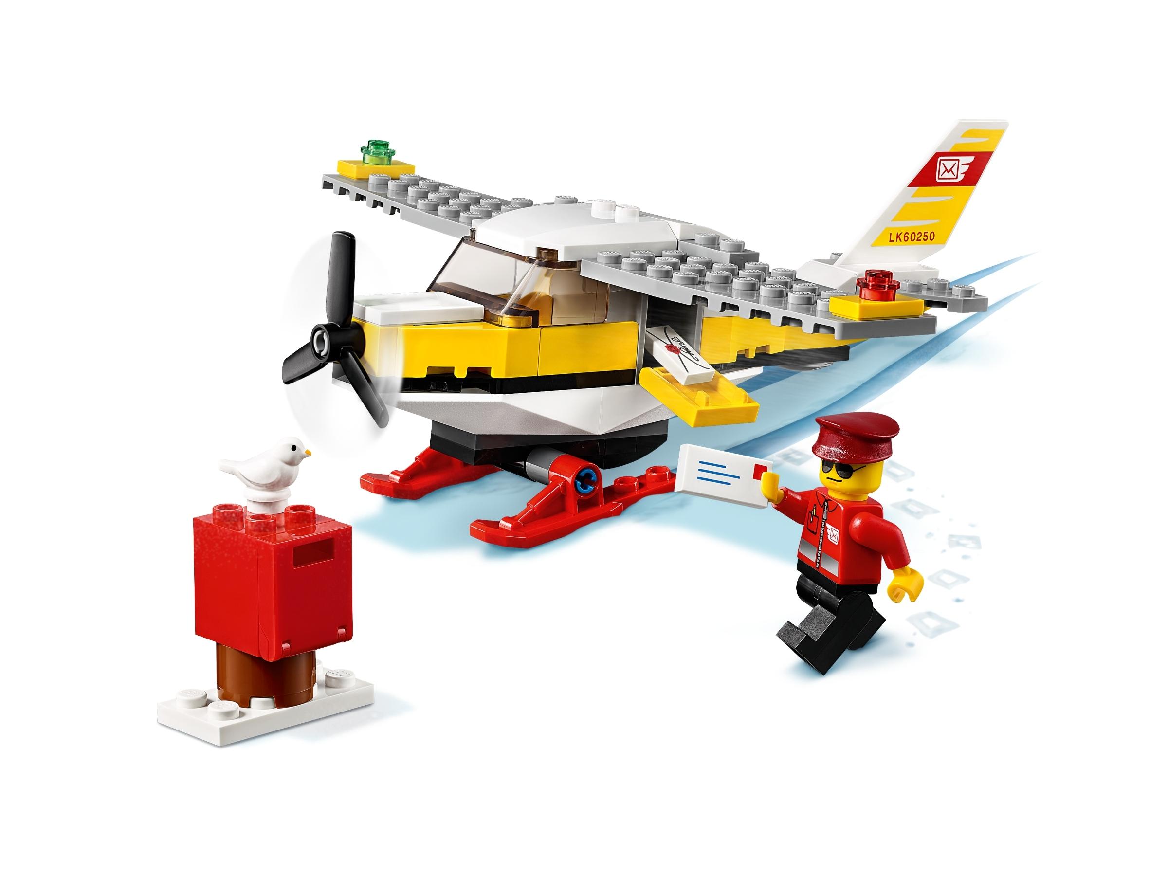 74 Pieces Lego 60250 LEGO City Mail Plane 60250 Building Set for Kids New 2020