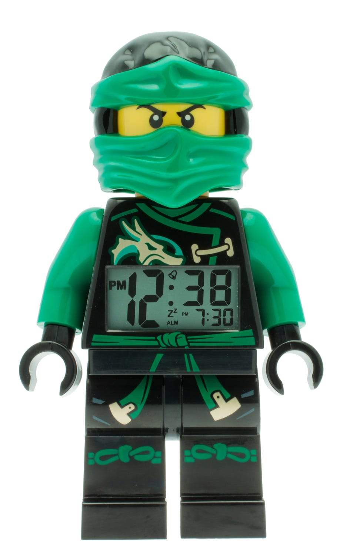 Réveil LEGO® NINJAGO™ Pirates du ciel avec figurine de Lloyd