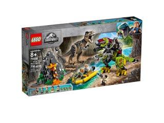Tyrannosaurus rexin taistelu Dino-robottia vastaan