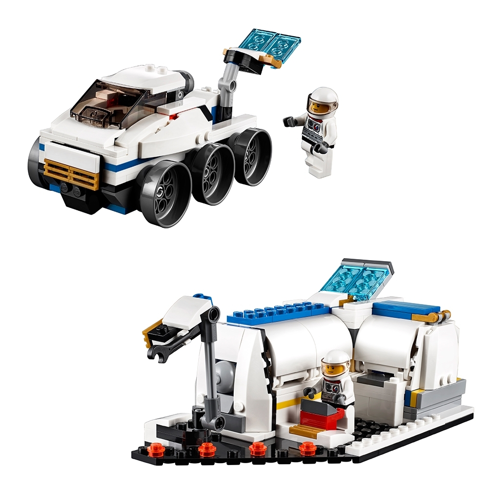 LEGO SET BOITE 31066 CREATOR LA NAVETTE SPATIALE SPACE SHUTTLE NASA 3 EN 1