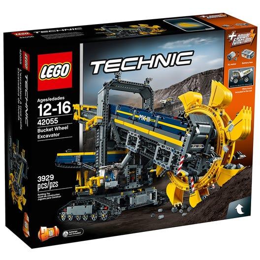 Bucket Wheel Excavator 42055 Technic Buy Online At The Official Lego Shop Us