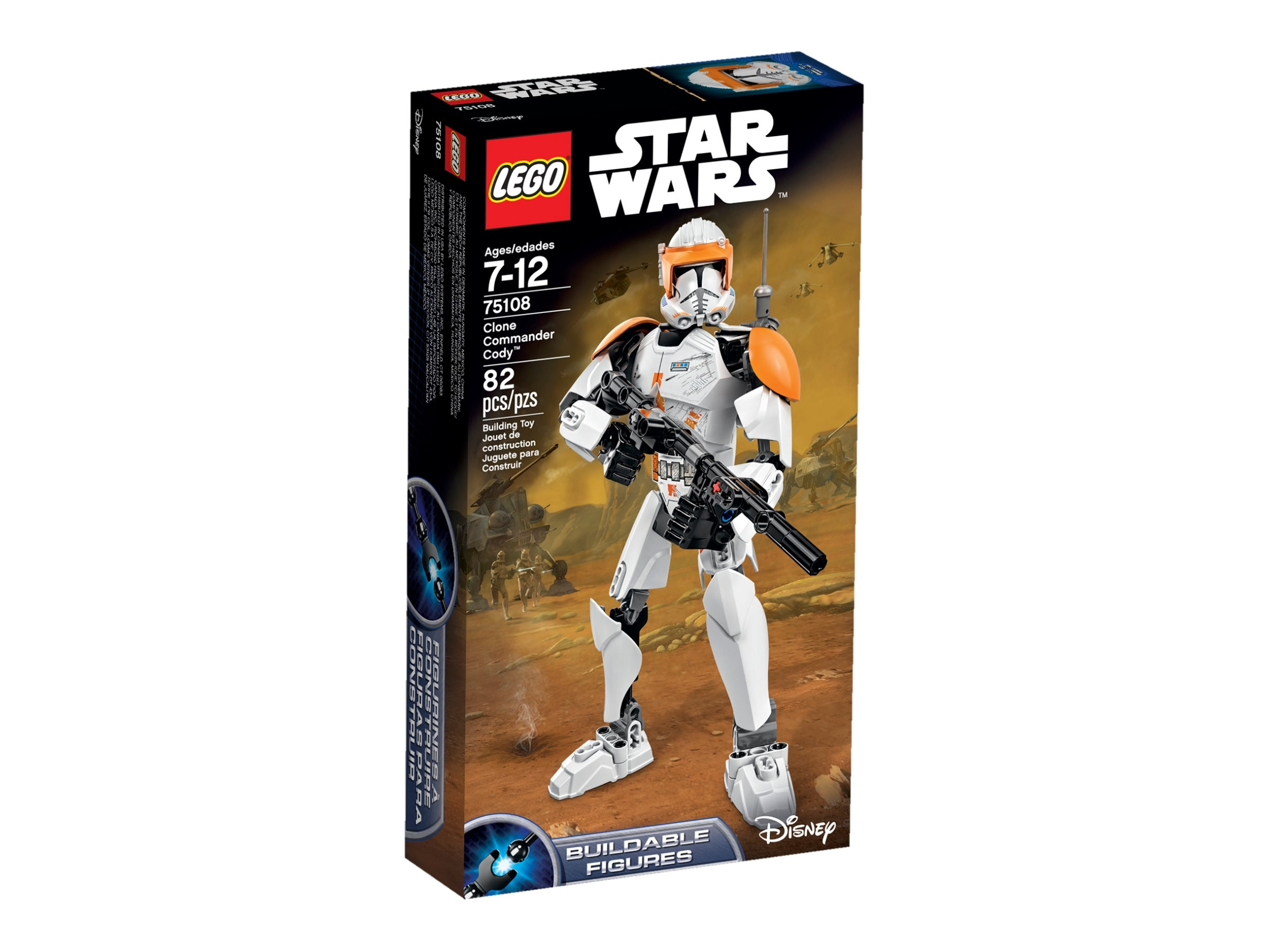 Lego ® Star Wars ™ Series 1 TRADING CARDS CARD 47-Commander Cody