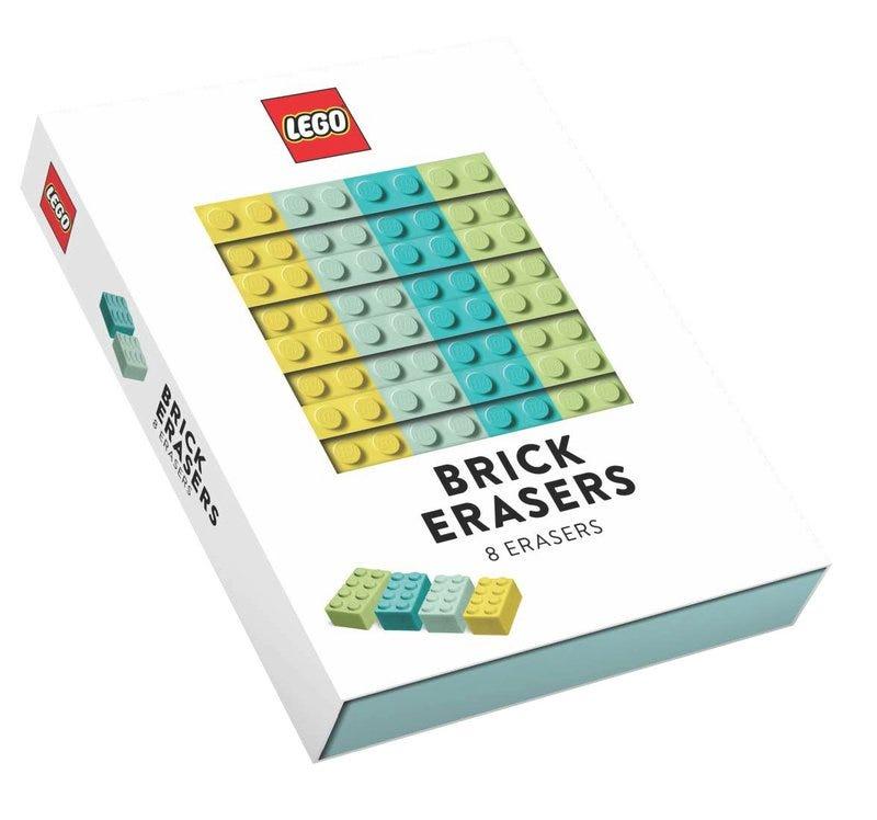 Gomas de borrar con forma de ladrillo LEGO®