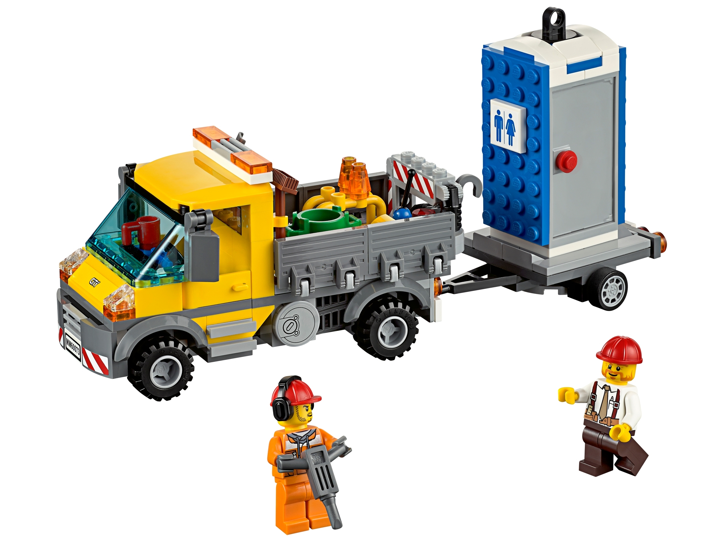 Lego CITY builds LEGO Portable Loo Custom printed pieces NEW Mobile Toilet