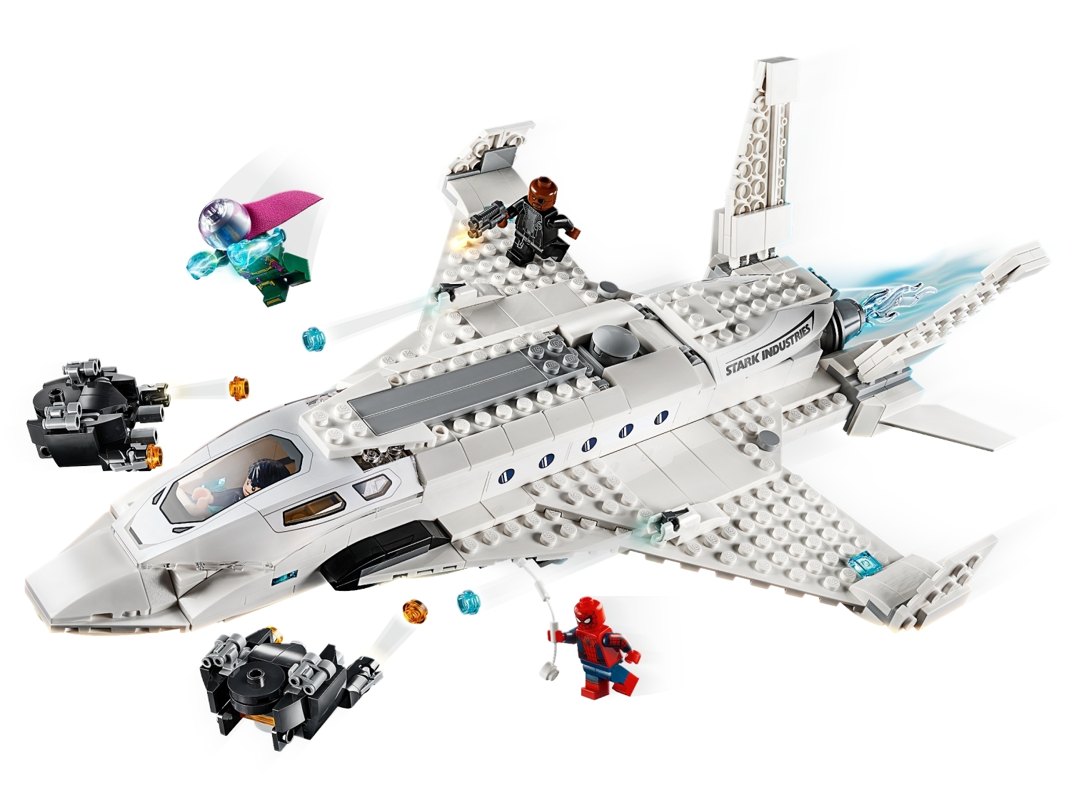 Lego® Super Heroes™ Figur Mysterio sh580 aus 76129 Tony STARK Jet brandneu