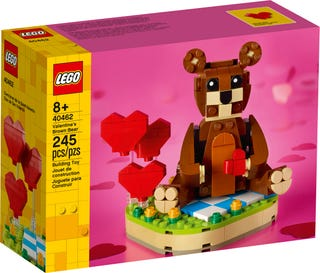Valentine's Brown Bear