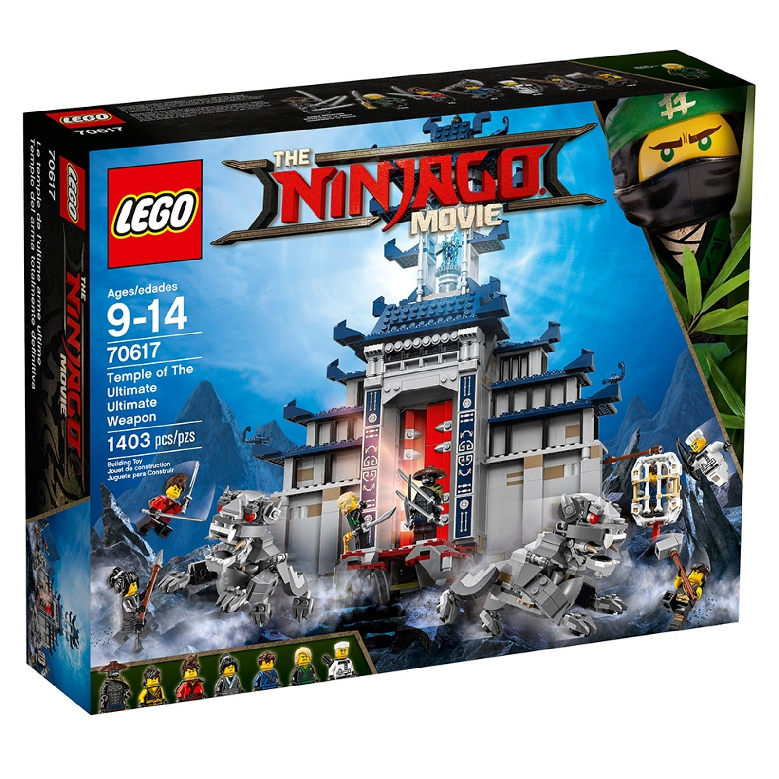 Temple Of The Ultimate Ultimate Weapon 70617 Ninjago Buy Online At The Official Lego Shop Us