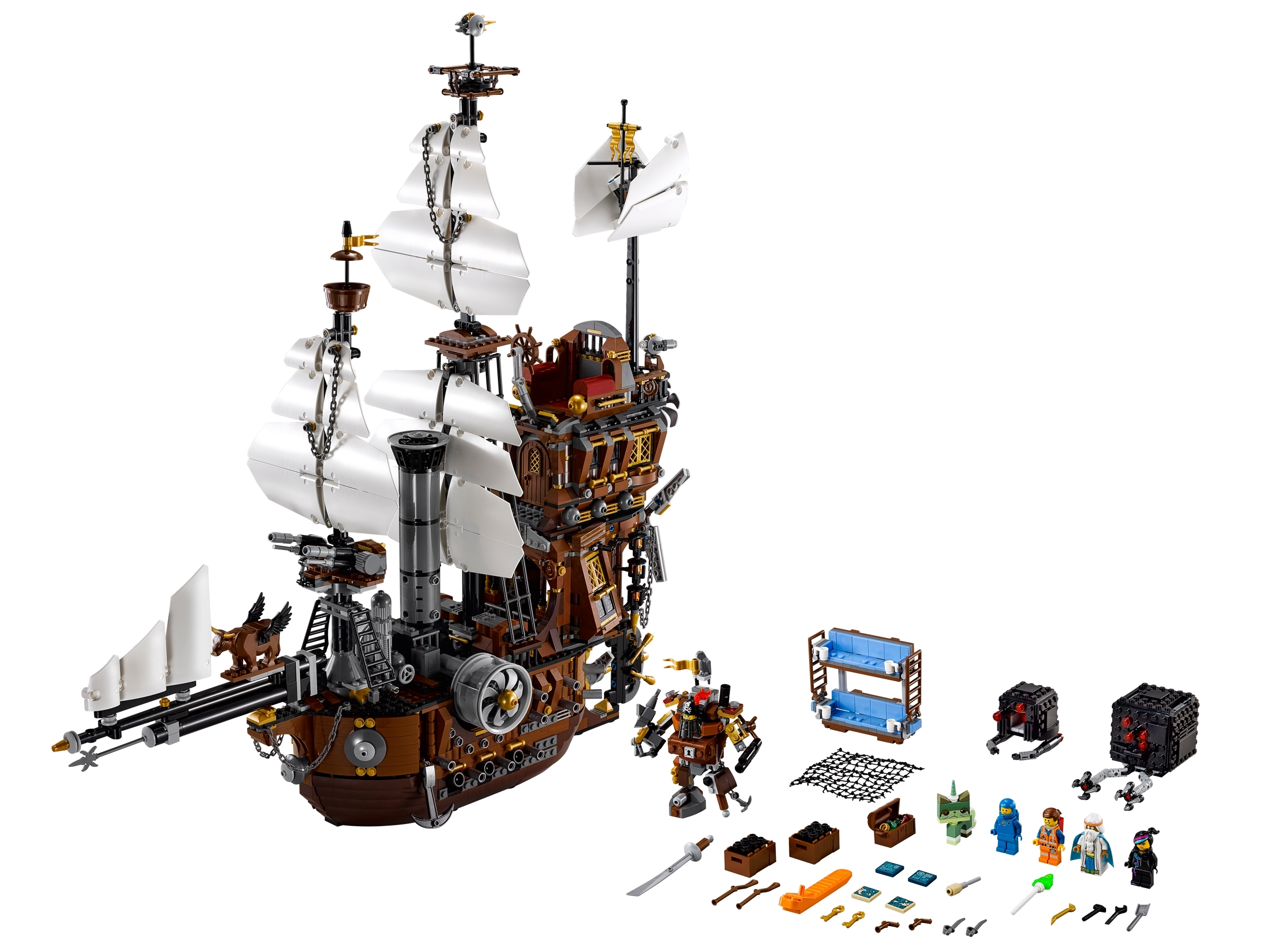 Metalbeard S Sea Cow 70810 Hard To Find Items Buy Online At The Official Lego Shop Us