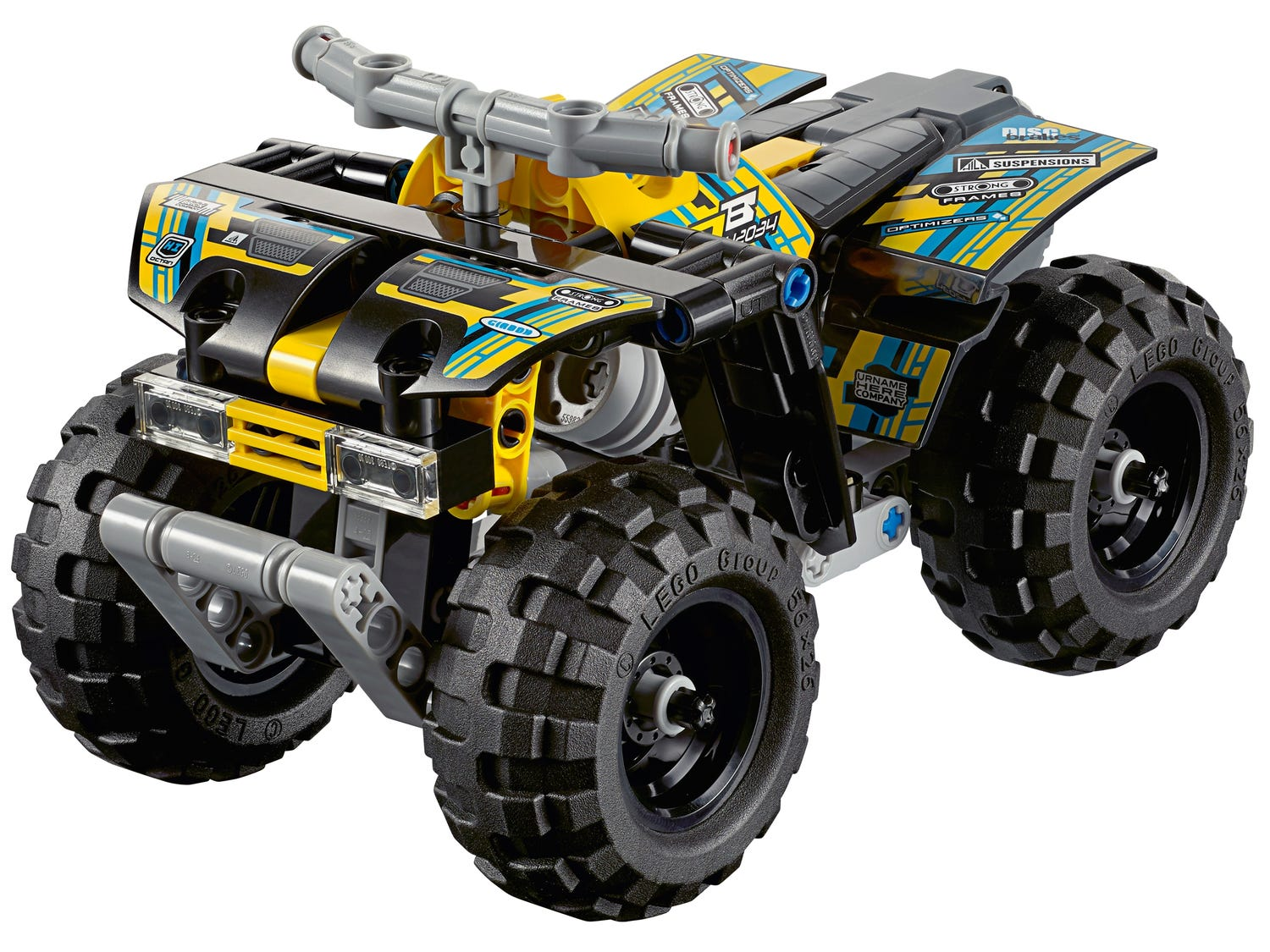 Quad Bike 42034 | Technic™ | Buy online at the Official ...