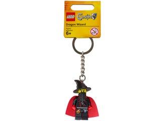레고® 캐슬 드래곤 마법사 열쇠고리