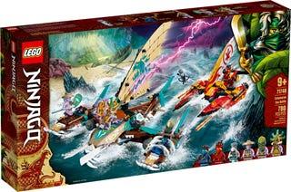 Námorná bitka s katamaránom