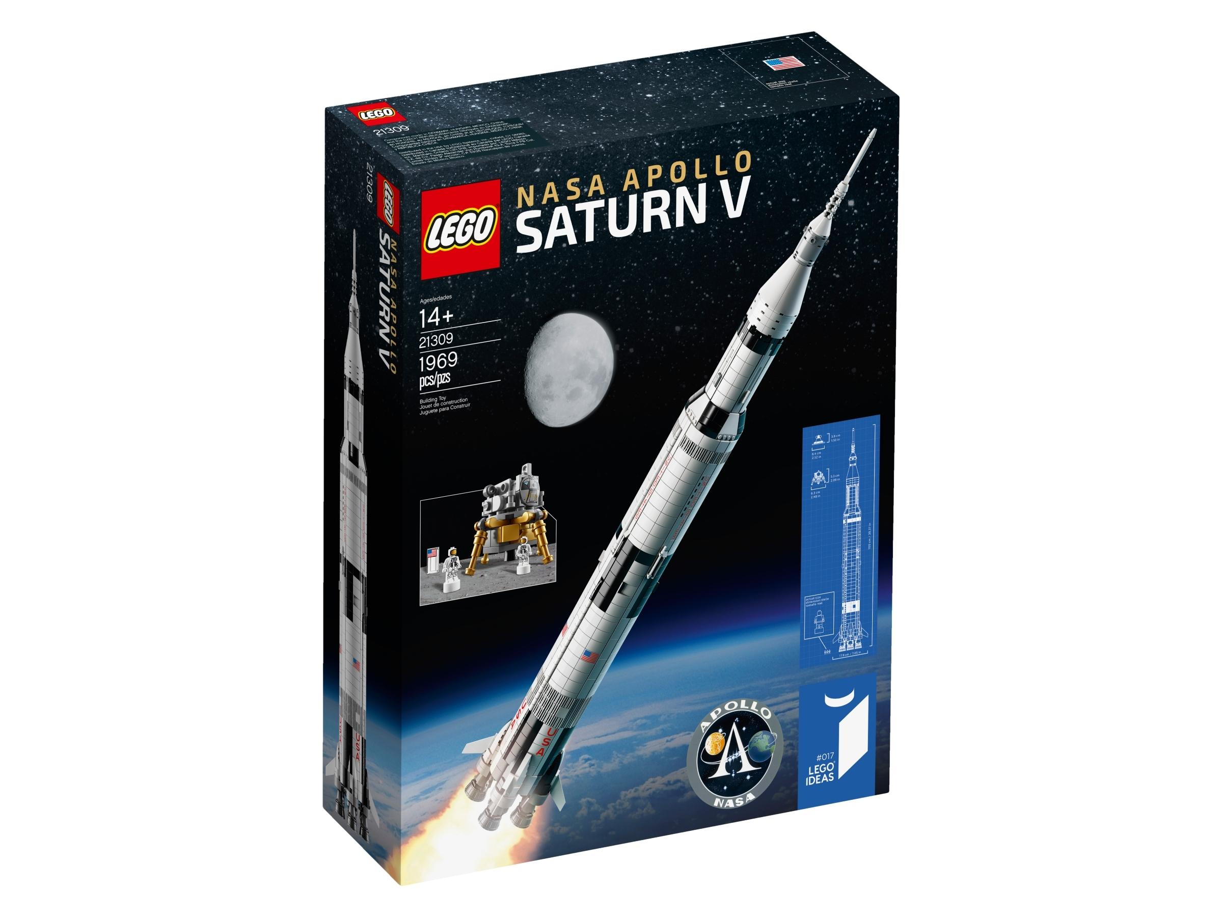 Lego New NASA Apollo Saturn V 21309 INSTRUCTIONS ONLY Manuel Booklet