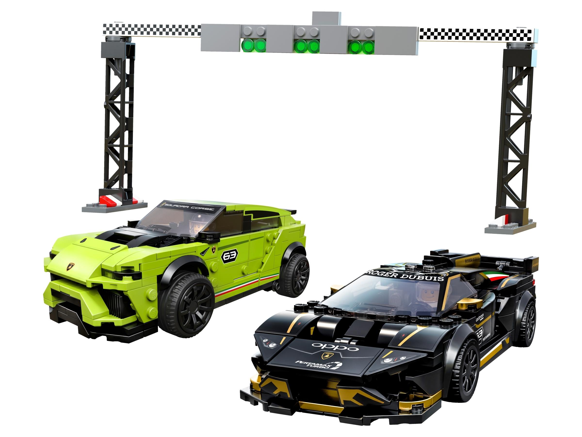 Lamborghini Urus St X Lamborghini Huracan Super Trofeo Evo 76899 Speed Champions Buy Online At The Official Lego Shop Us