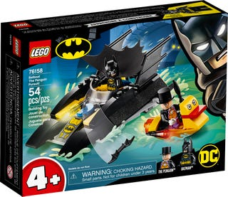 Batboat The Penguin Pursuit!
