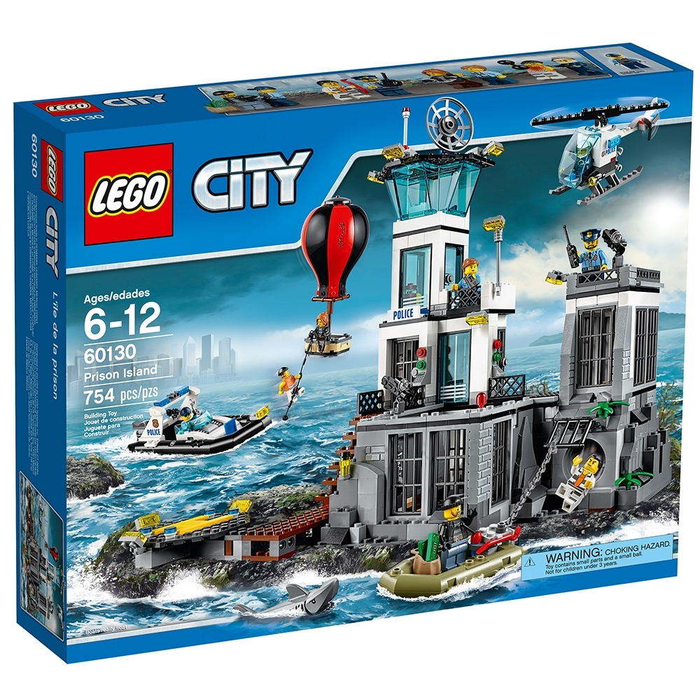 Lego New Police City Orange Jail Prisoner Police Minifigure from Set 60130