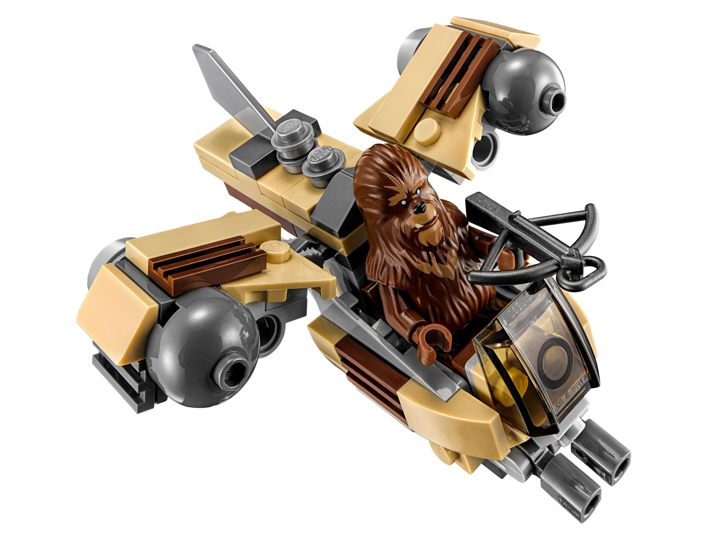 Lego Wookiee 75129 Gunship Chewbacca Star Wars Minifigure