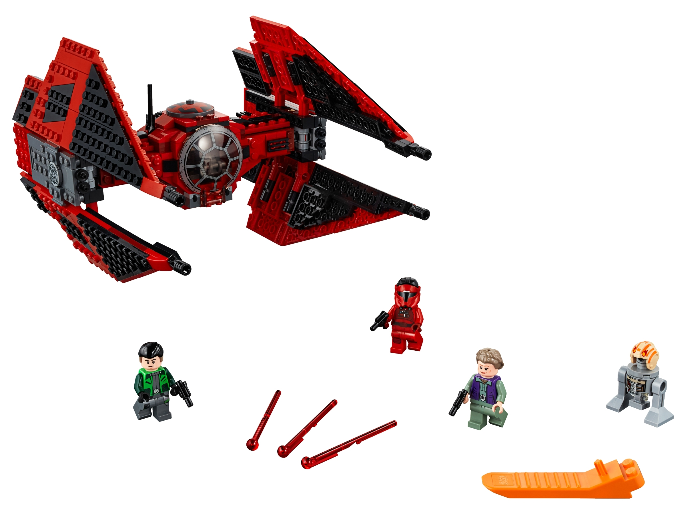 Lego Star Wars Major Vonreg/'s TIE Fighter 75240