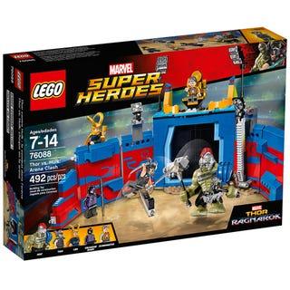 Thor contro Hulk: duello nell'arena