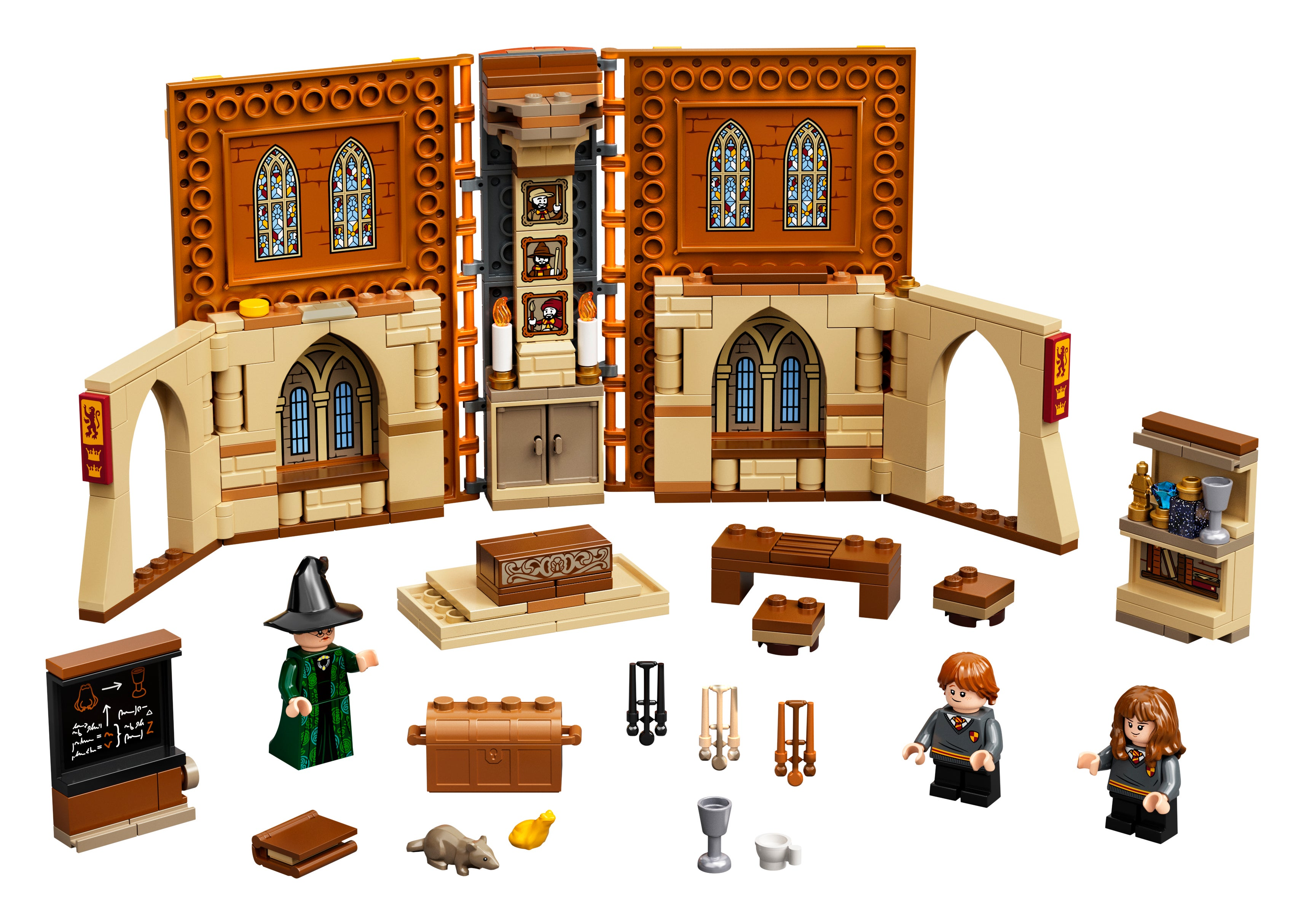 75948 Minifigs-Harry Potter-hp189-Viktor person seats Lego ®