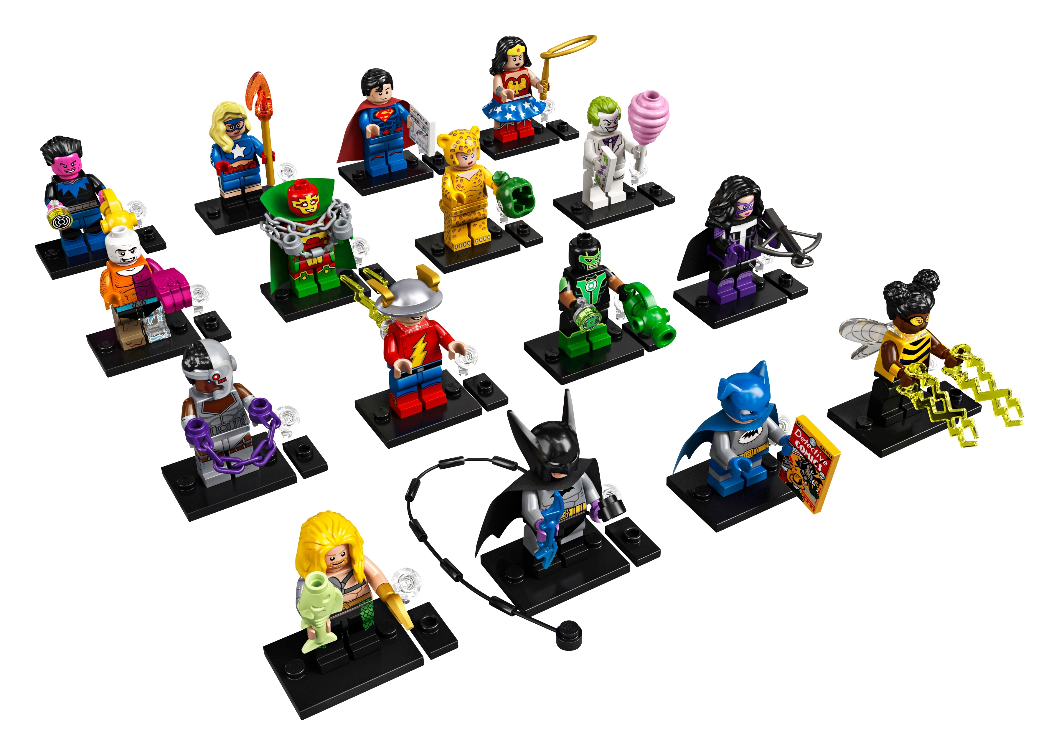 Lego Mini Figure DC Comics Joker Minion