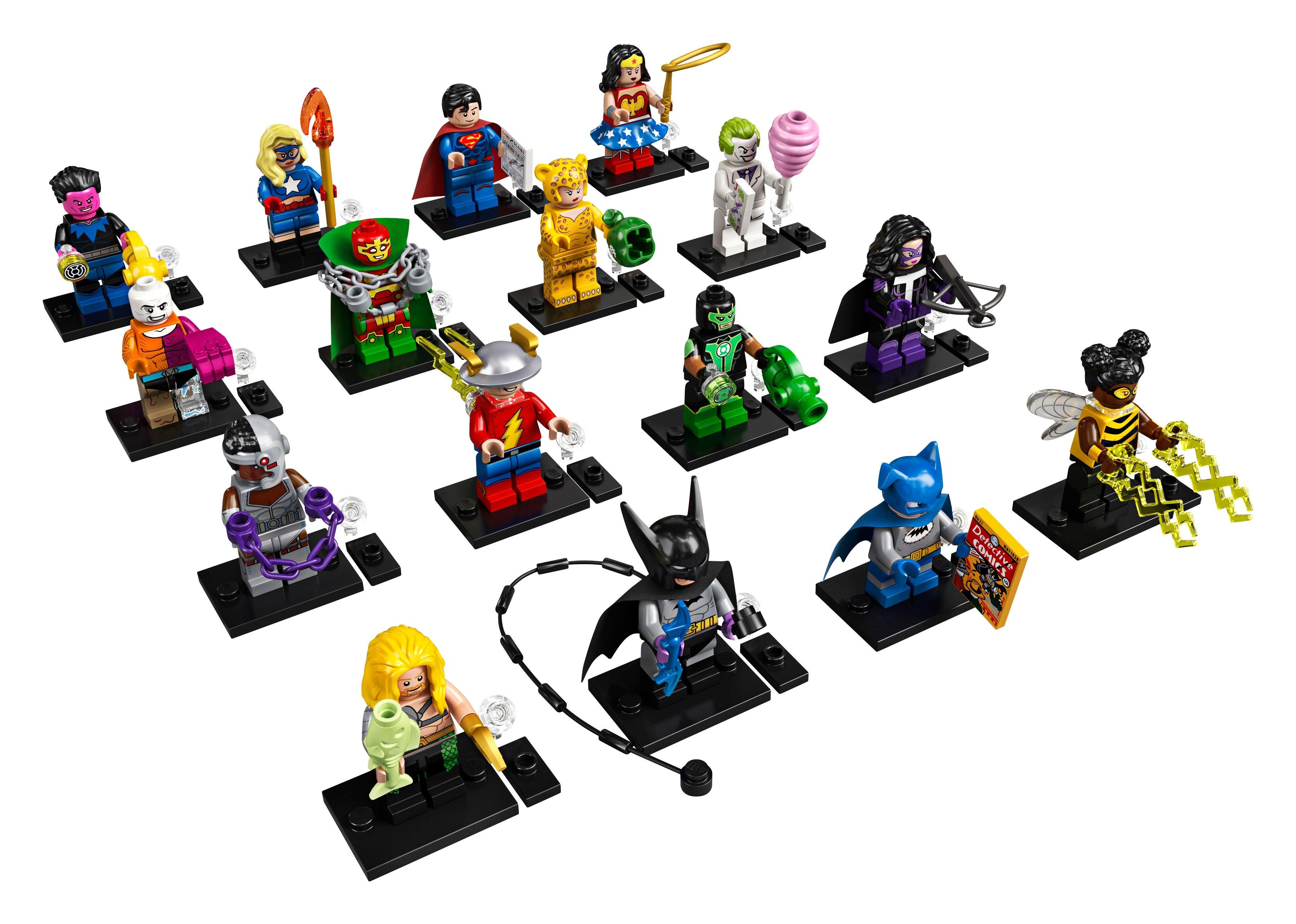 Superheroes Ninjago col City Toy story LEGO Minifigures Series Marvel