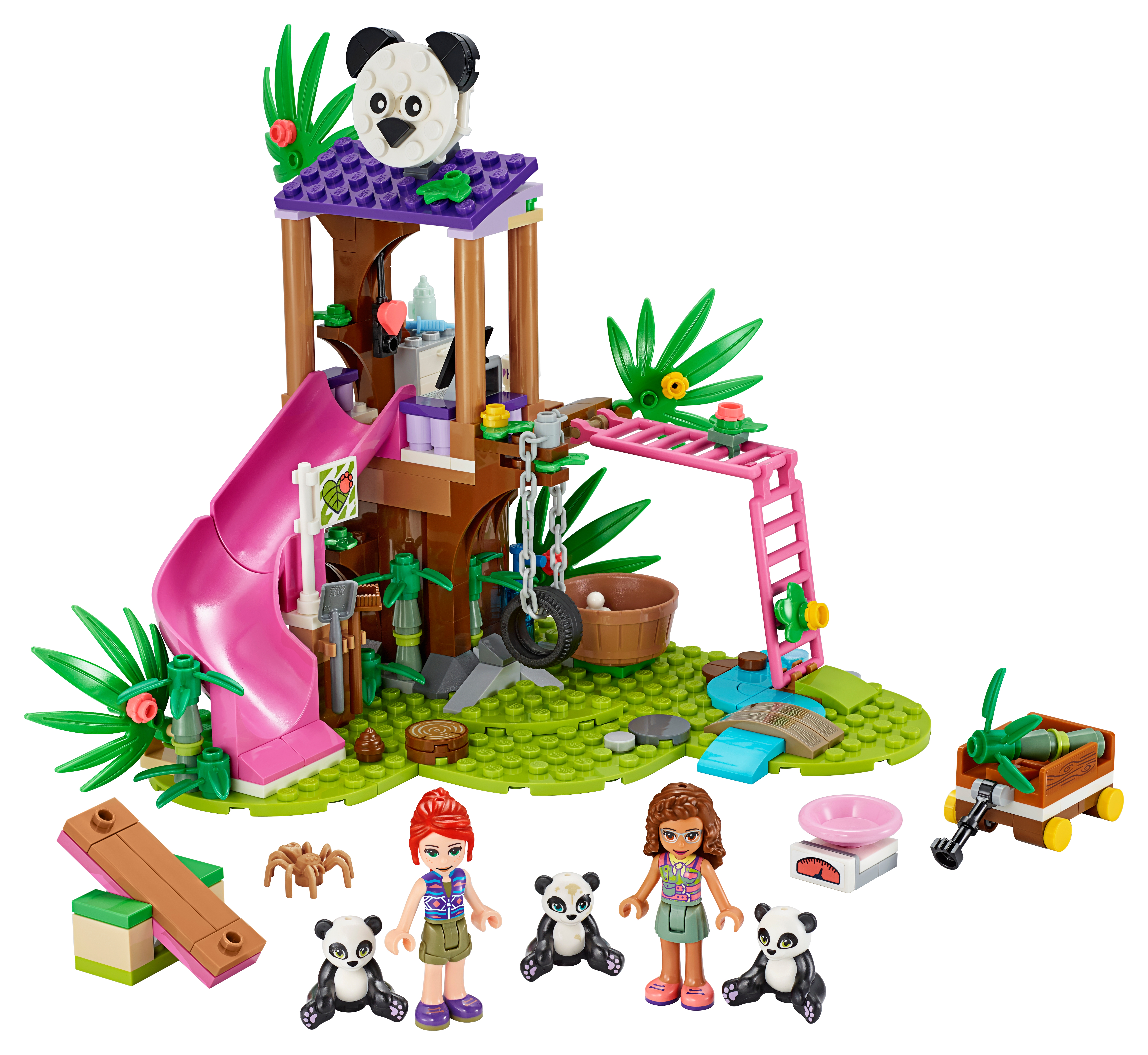 Picture of: Panda Jungle Tree House 41422 Friends Buy Online At The Official Lego Shop Ca