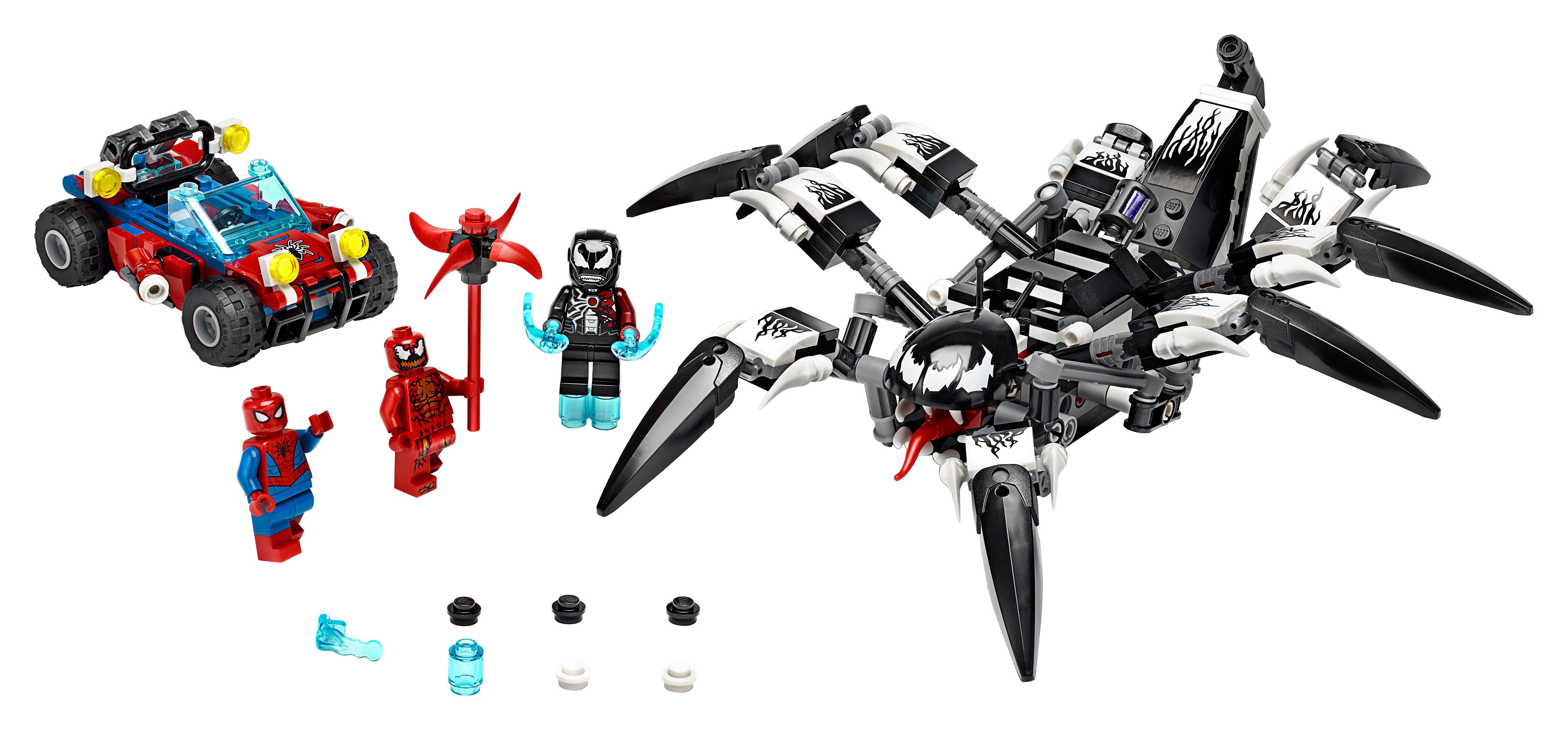 Set of 6 Marvel Venom Superheroes Custom BIG Minifigures