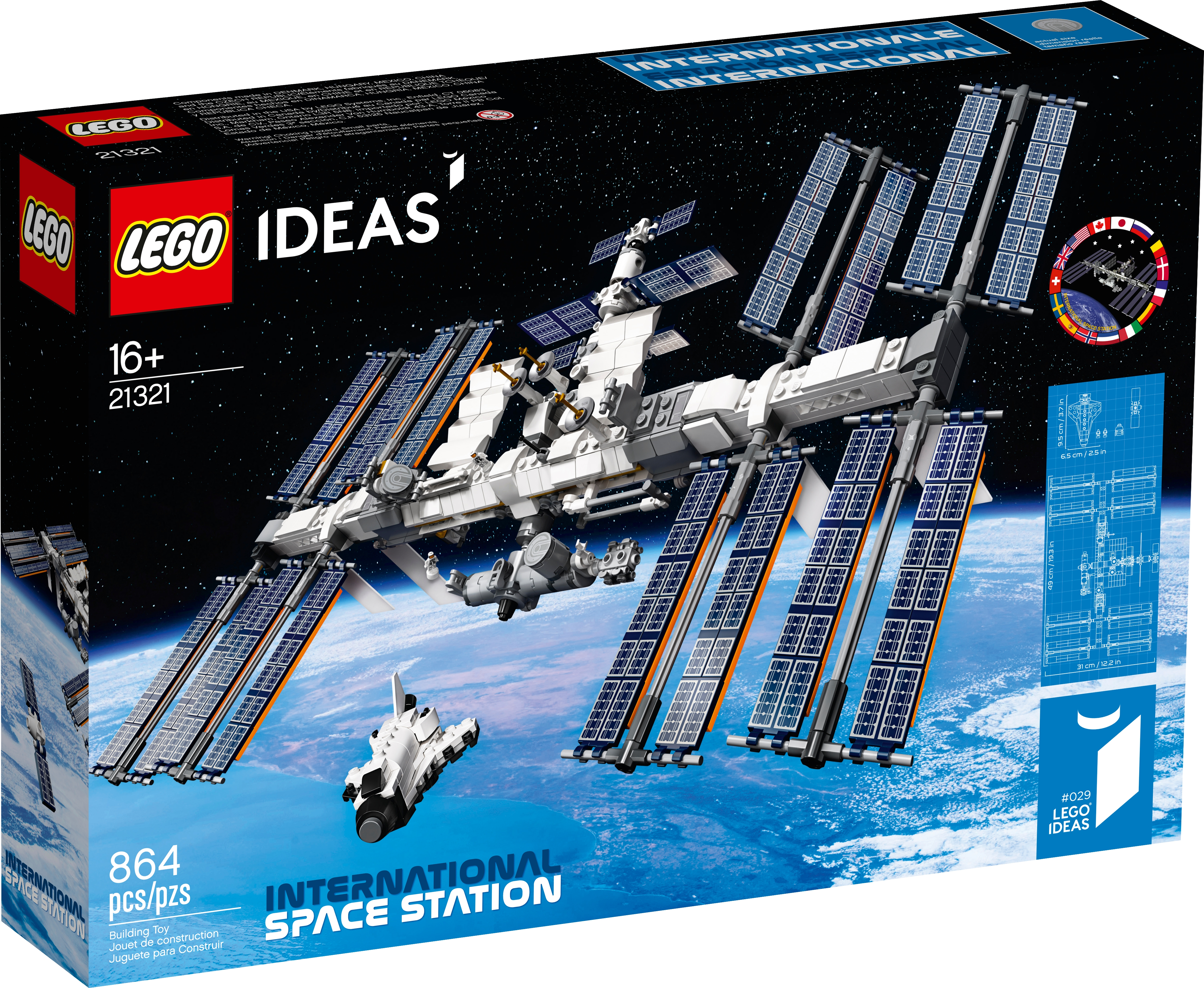 Internationale Raumstation 21321 | Ideas | Offiziellen LEGO® Shop DE