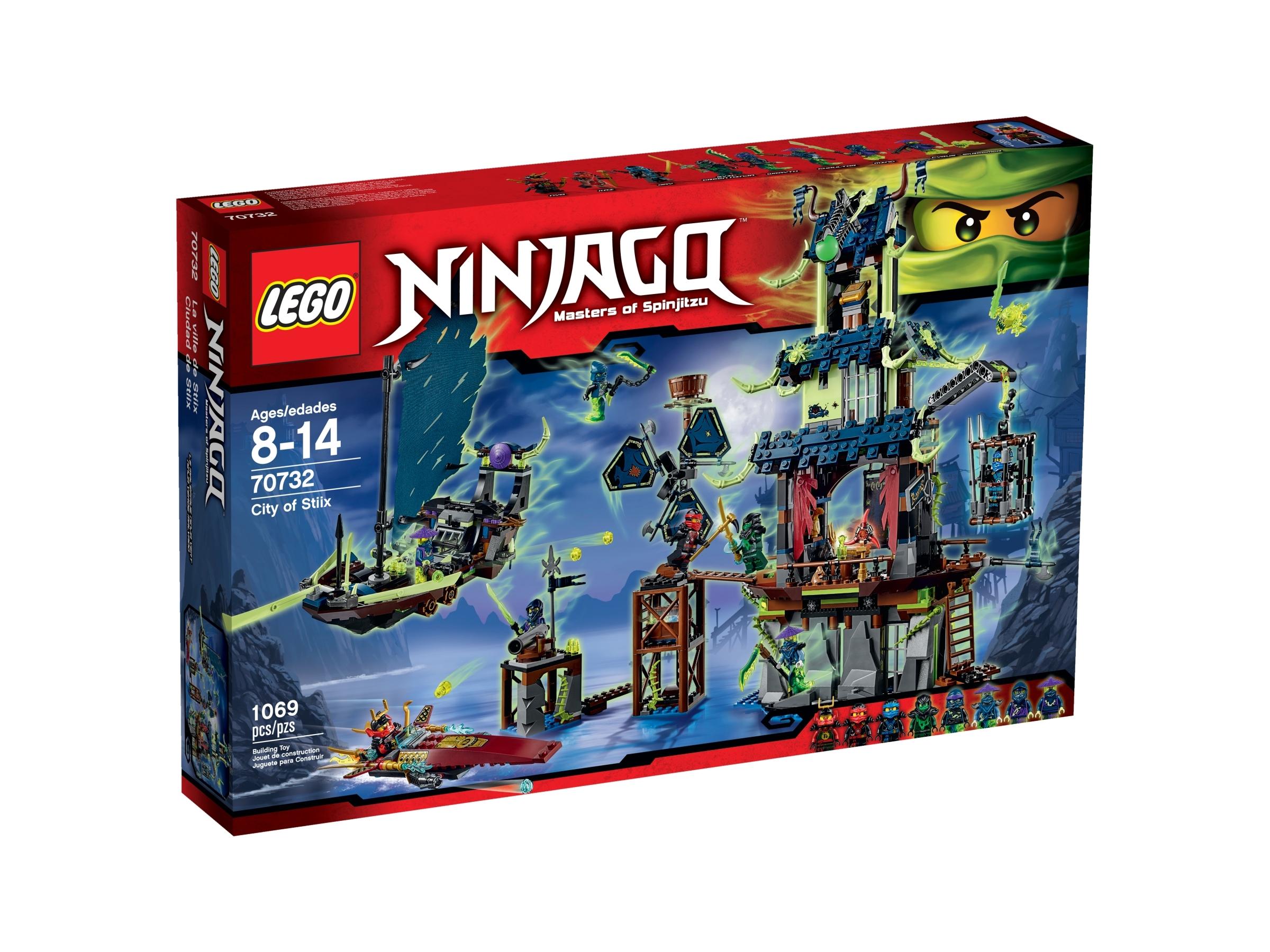 Lego Ninjago Ghost Ninja Ming w// Weapon from 70732 City of Stiix