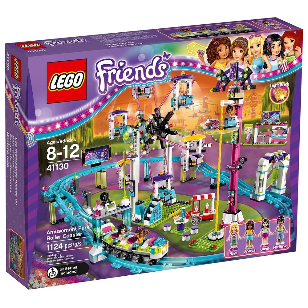 instructions for lego friends amusement park