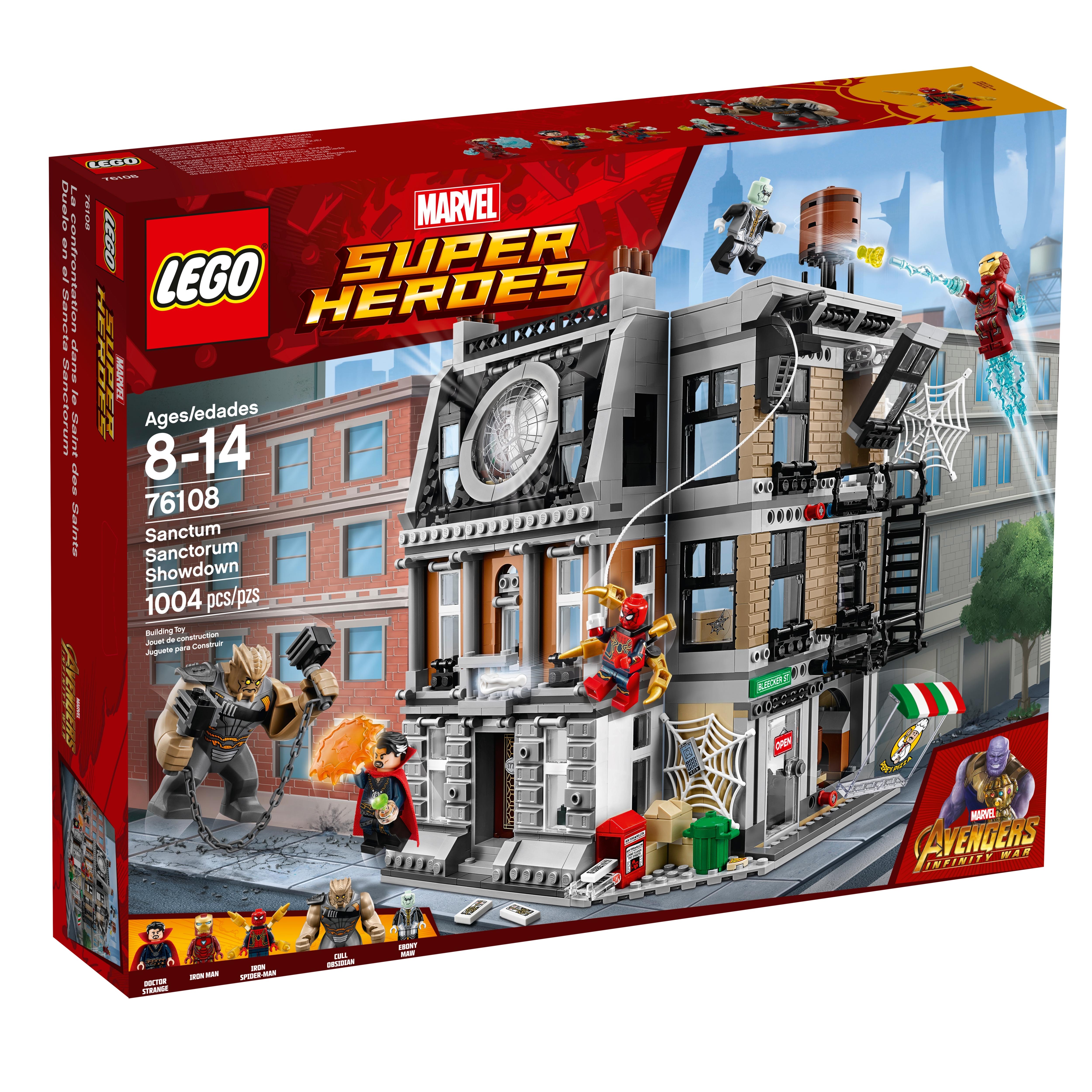 LEGO Marvel Super Heroes DOCTOR STRANGE Genuine  76108