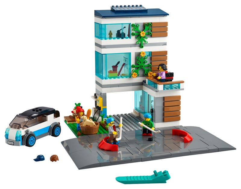 Modernes Familienhaus