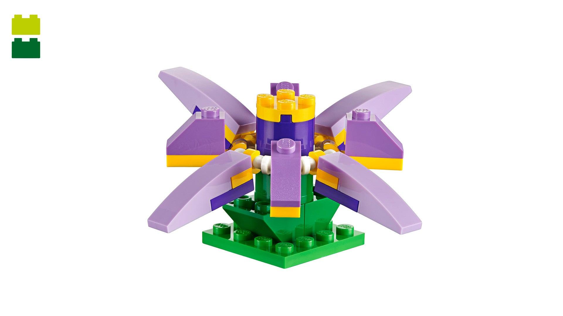 1069 LEGO Classic Juguete de Construcción Caja de Ladrillos Creativa Mediana