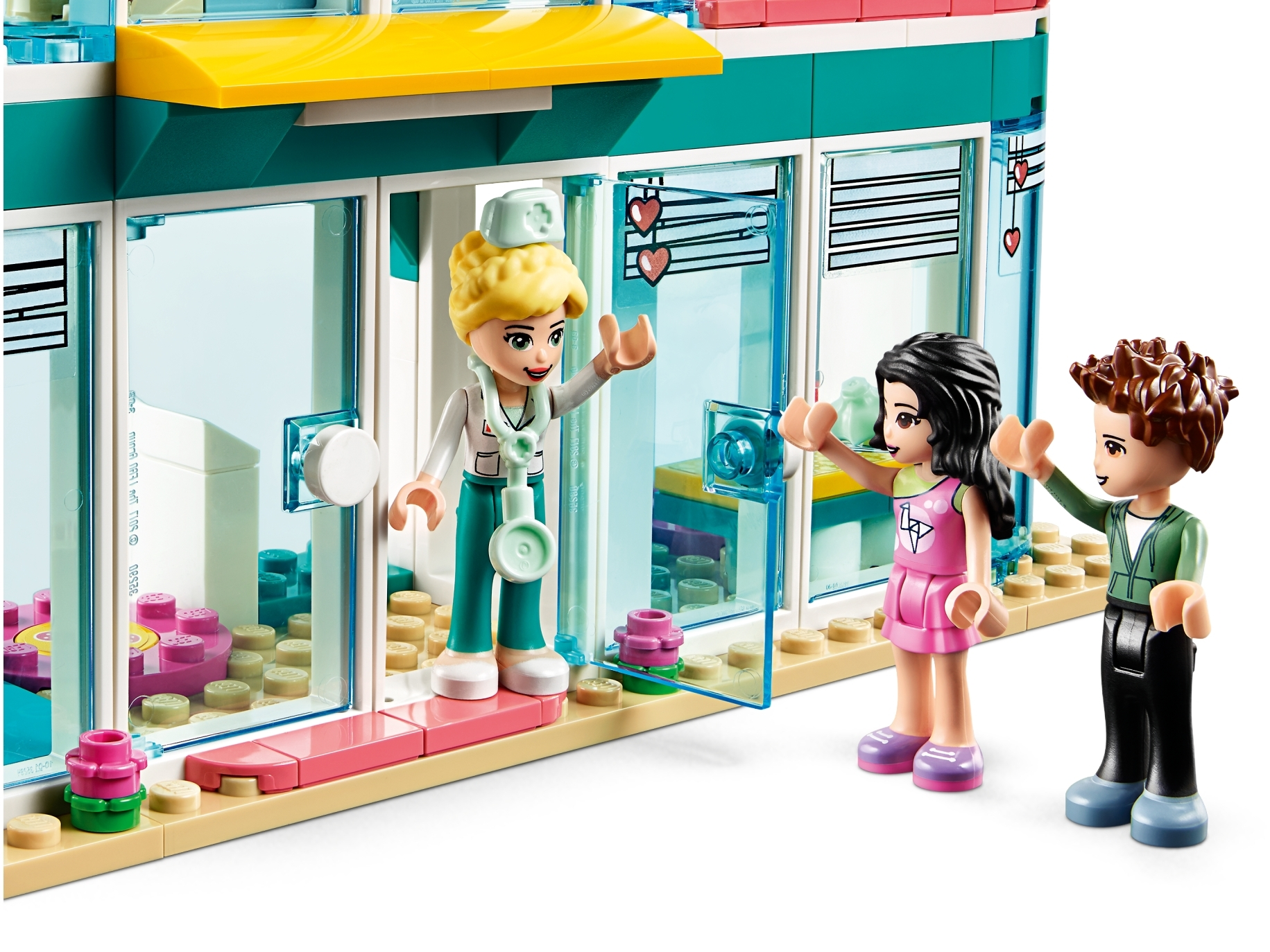 LEGO Friends Heartlake City Hospital 41394 Best Doctor Toy Building Kit Featuring LEGO Friends Character Emma New 2020 379 Pieces