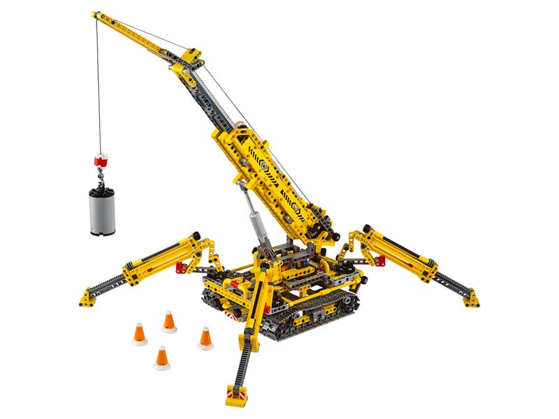 Compact Crawler Crane 42097 | Technic™ | Buy online at the ...